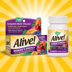 Natures Way Alive Women's Energy Multi-Vitamin 50 Tablets