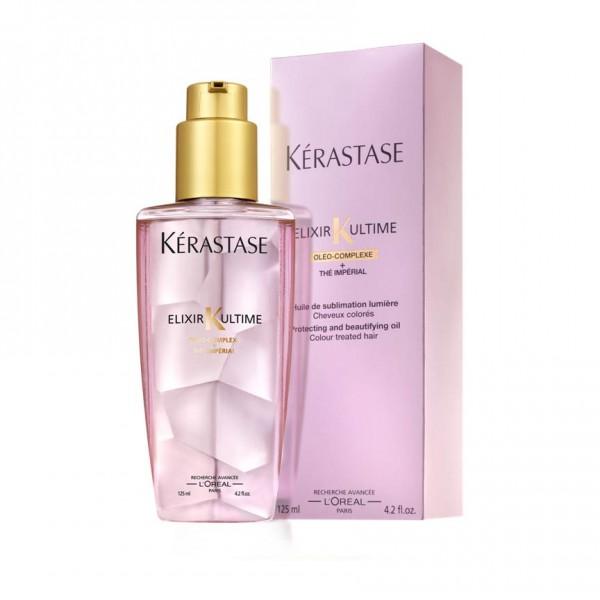 Kerastase Elixir Ultime Oil for Colour-treated Hair 100ml Brillo Anti-frizz