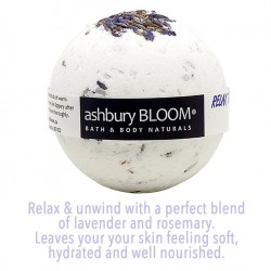 Ashbury Bloom Relax the Day Away Bath Bomb